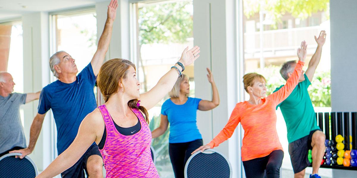 Silver Sneakers Intermediate Yoga – Symons Recreation Complex